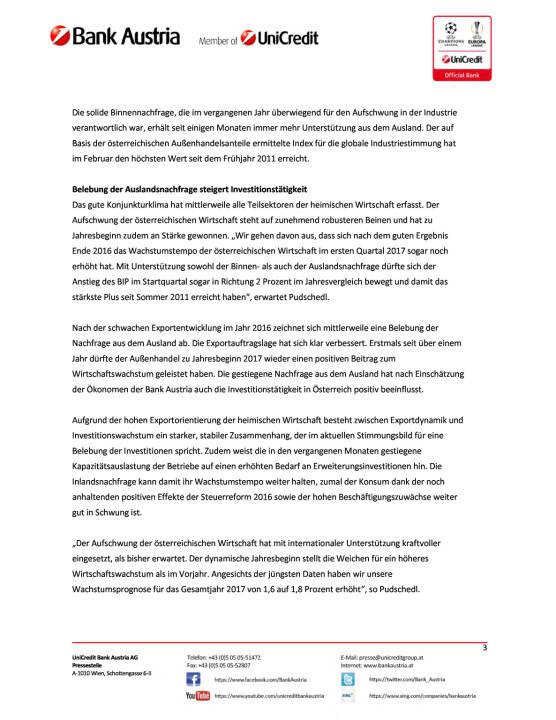 Bank Austria Konjunkturindikator: Prognose für BIP-Wachstum 2017 erhöht, Seite 3/6, komplettes Dokument unter http://boerse-social.com/static/uploads/file_2163_bank_austria_konjunkturindikator_prognose_fur_bip-wachstum_2017_erhoht.pdf