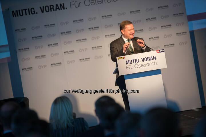 Werner Amon - ÖVP Bundesparteileitung: Mitterlehner eröffnet erste ÖVP Bürgermeister-Konferenz: Nur gemeinsam sind wir stark und erfolgreich (Fotocredit:ÖVP/Jakob Glaser)