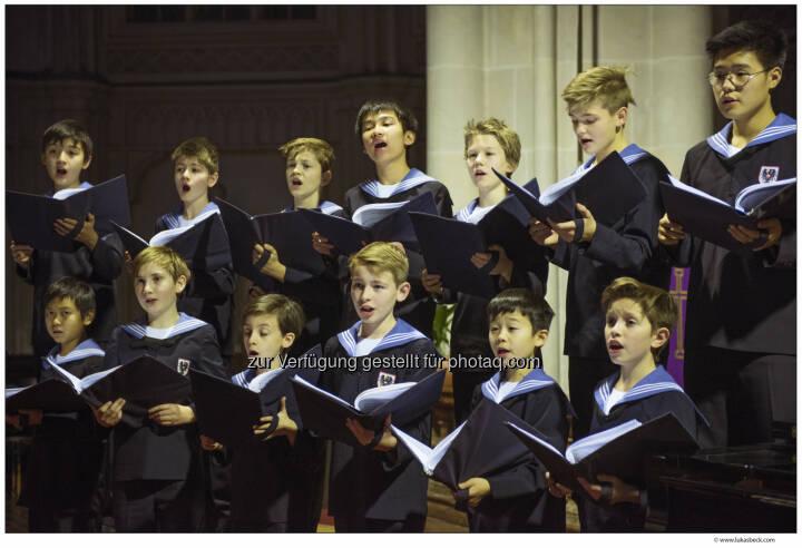 Ausbildung und Chorgesang sind Immaterielles Kulturerbe - Wiener Sängerknaben: Hohe UNESCO-Auszeichnung für die Wiener Sängerknaben (Fotocredit: (c) Lukas Beck)