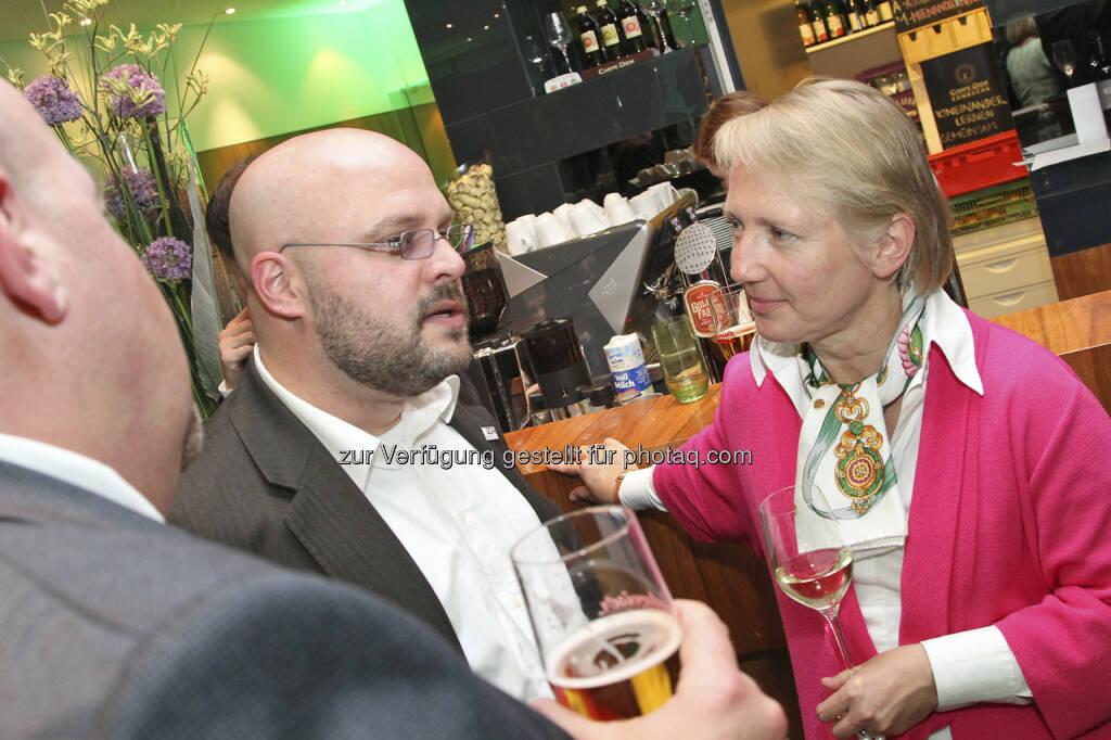 Florian Roebbeling (IZA), Heike Arbter (RCB), © Norbert Novak für das ZFA (14.05.2013)