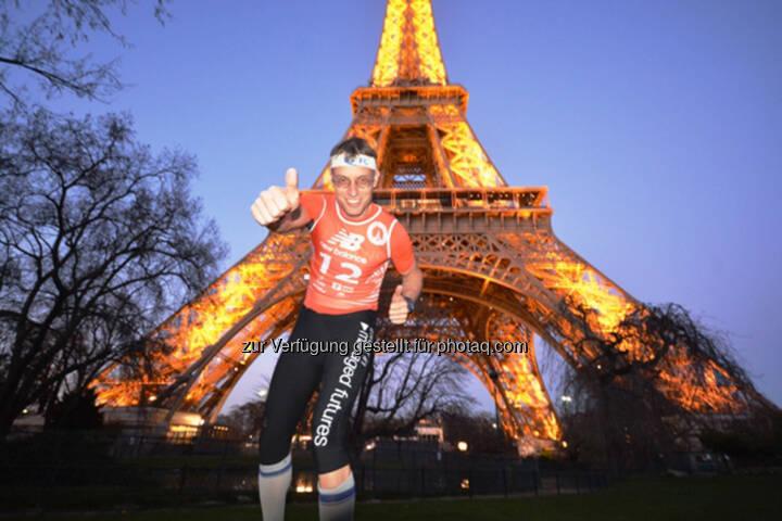 Rolf Majcen, Eiffelturm, Paris, Frankreich