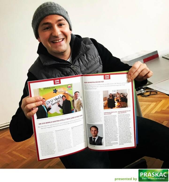 Richard Dobetsberger CFD World Austria http://www.boerse-social.com/magazine