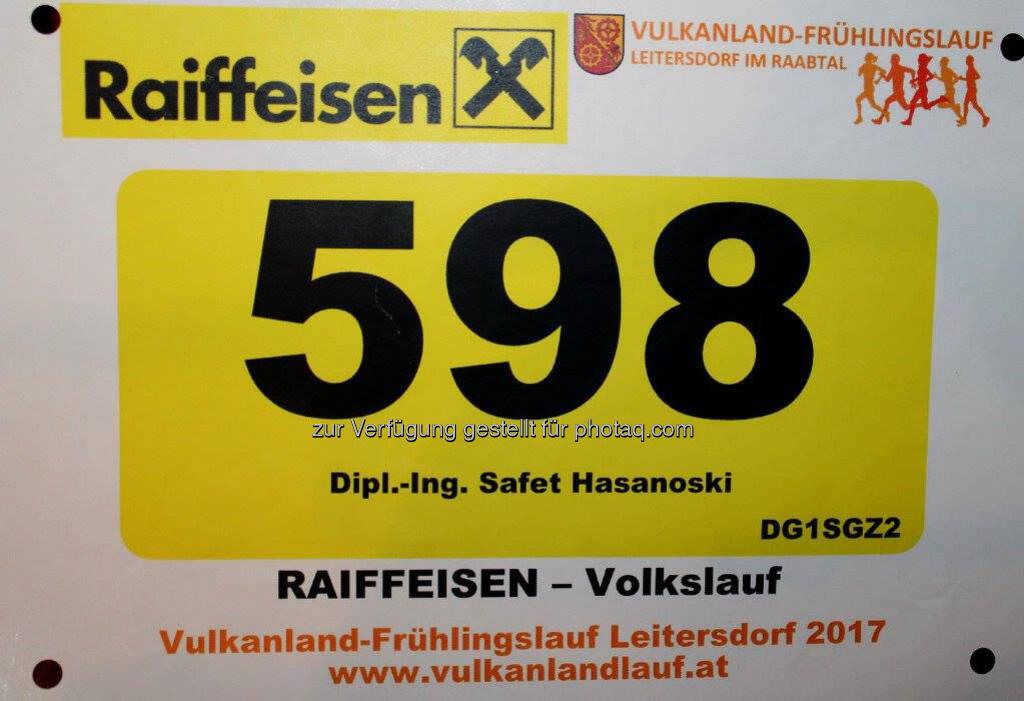 Startnummer, Raiffeisen (19.03.2017)