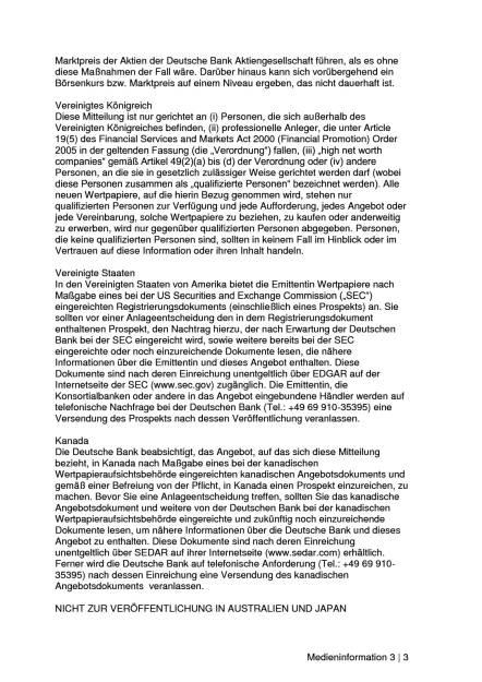 Deutsche Bank legt Emissionsvolumen der Kapitalerhöhung auf 8,0 Milliarden Euro fest, Seite 3/3, komplettes Dokument unter http://boerse-social.com/static/uploads/file_2166_deutsche_bank_legt_emissionsvolumen_der_kapitalerhohung_auf_80_milliarden_euro_fest.pdf (19.03.2017)
