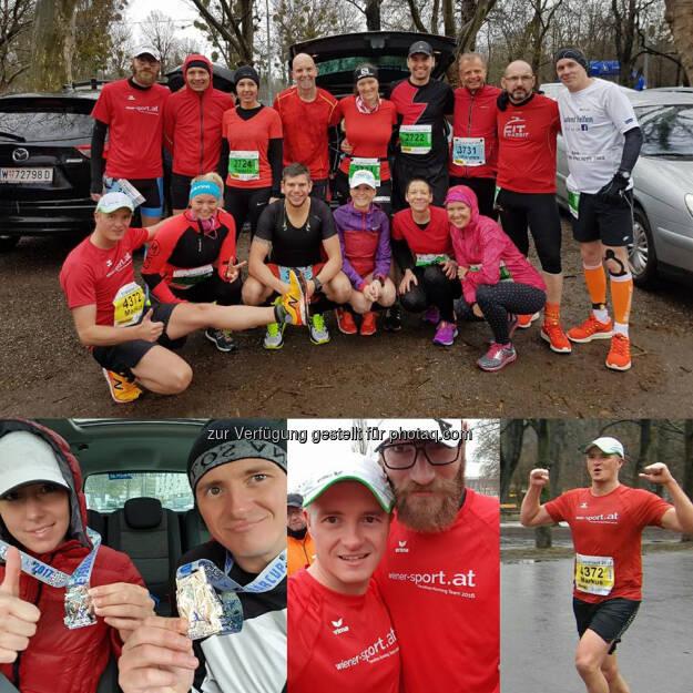 Markus Steinacher mit dem Wemove Running Team (19.03.2017)