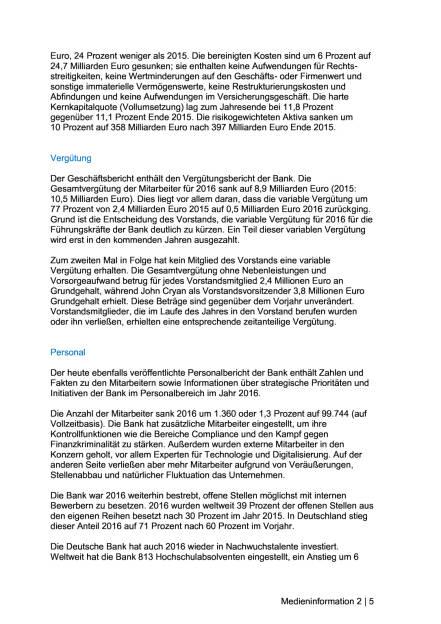 Deutsche Bank veröffentlicht Geschäftsbericht 2016, Seite 2/5, komplettes Dokument unter http://boerse-social.com/static/uploads/file_2167_deutsche_bank_veroffentlicht_geschaftsbericht_2016.pdf (20.03.2017)