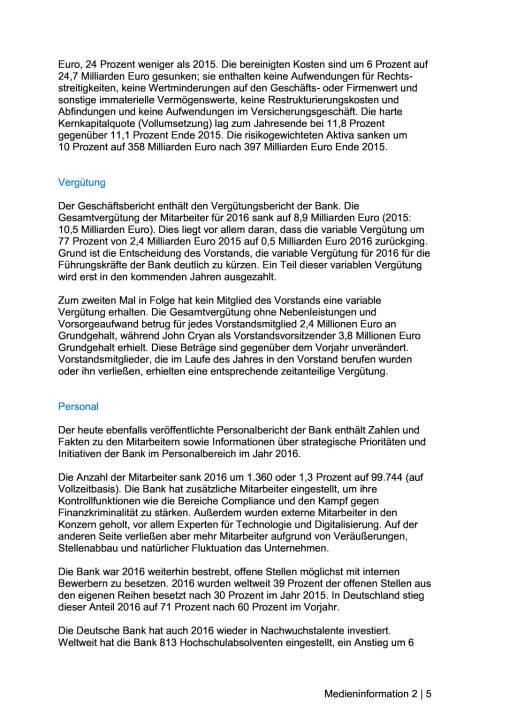 Deutsche Bank veröffentlicht Geschäftsbericht 2016, Seite 2/5, komplettes Dokument unter http://boerse-social.com/static/uploads/file_2167_deutsche_bank_veroffentlicht_geschaftsbericht_2016.pdf