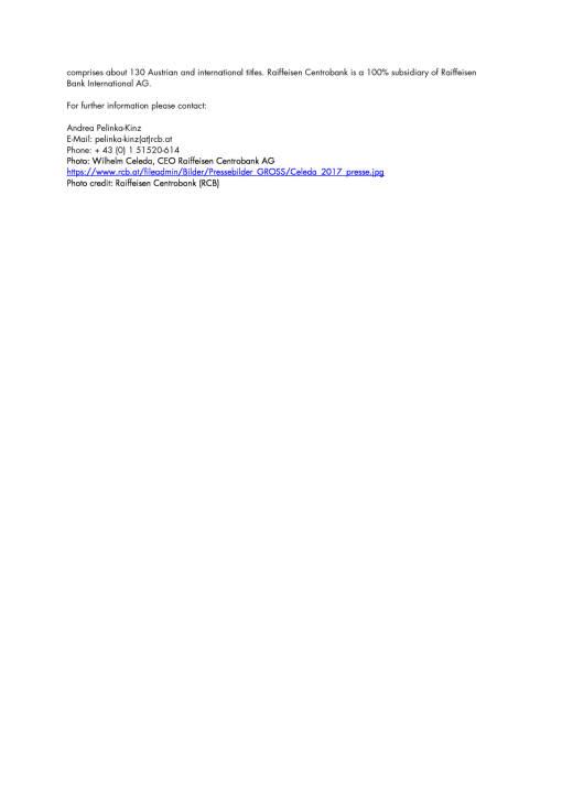Raiffeisen Centrobank Investorenkonferenz vom 27.-29. März 2017 in Zürs am Arlberg, Seite 3/3, komplettes Dokument unter http://boerse-social.com/static/uploads/file_2168_raiffeisen_centrobank_investorenkonferenz_vom_27-29_marz_2017_in_zurs_am_arlberg.pdf