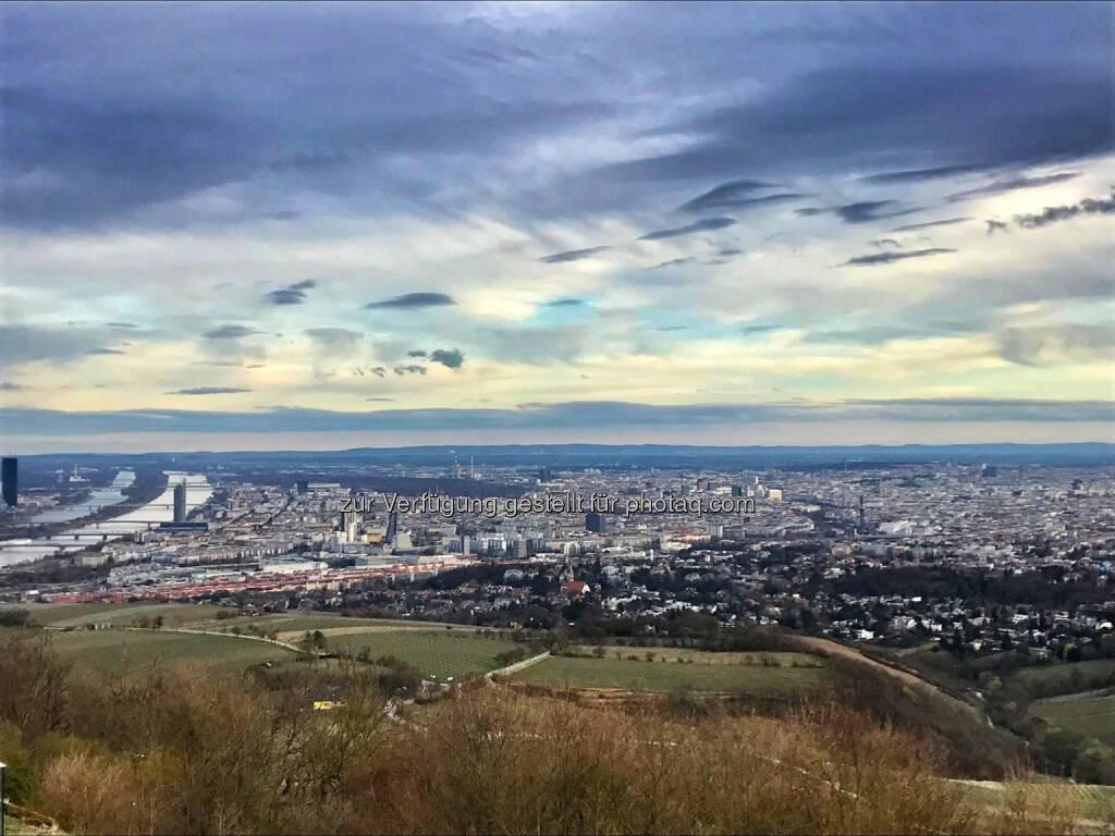 Wien, Blick vom Kahlenberg (20.03.2017)