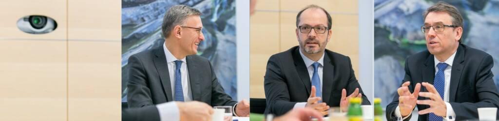 Robert Ottel (voestalpine, Aktienforum), Paul Severin (Erste Asset Management, ÖVFA) und Harald  Hagenauer (Österreichische Post, CIRA) (21.03.2017)