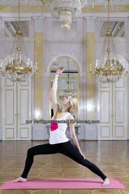 Yoga im Musensaal der Albertina - Albertina: Albertina: Yoga meets Art (Fotocredit: Albertina, Wien), © Aussender (22.03.2017)
