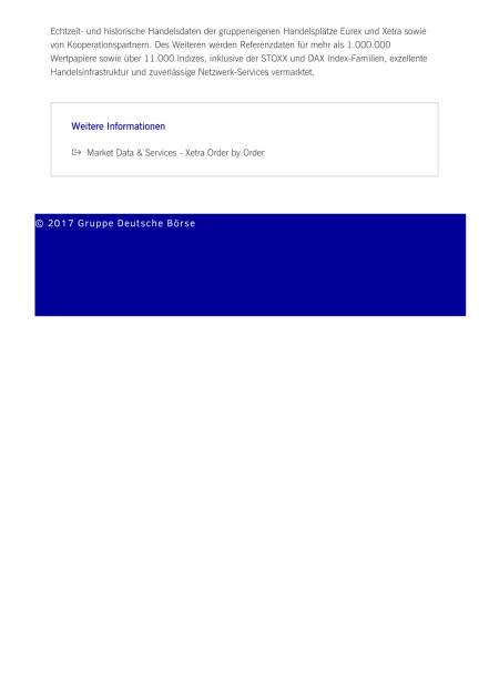Neuer Marktdatenfeed gibt Einblick in das gesamte Xetra-Orderbuch, Seite 2/2, komplettes Dokument unter http://boerse-social.com/static/uploads/file_2176_neuer_marktdatenfeed_gibt_einblick_in_das_gesamte_xetra-orderbuch.pdf