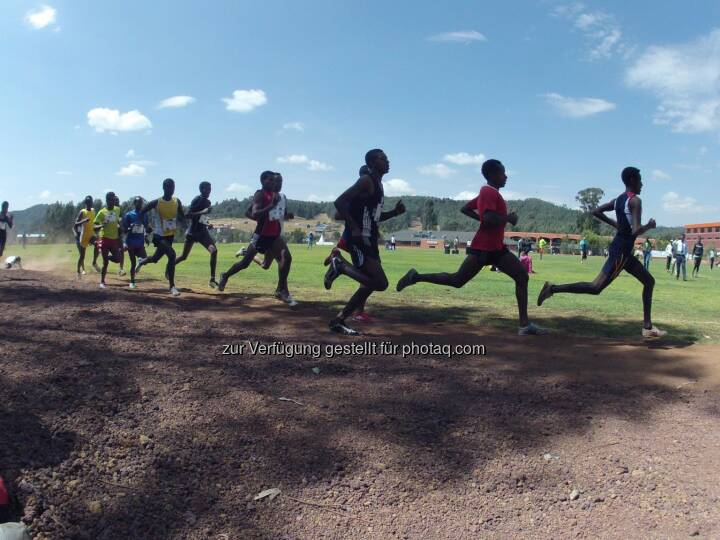 Läufer Äthiopien