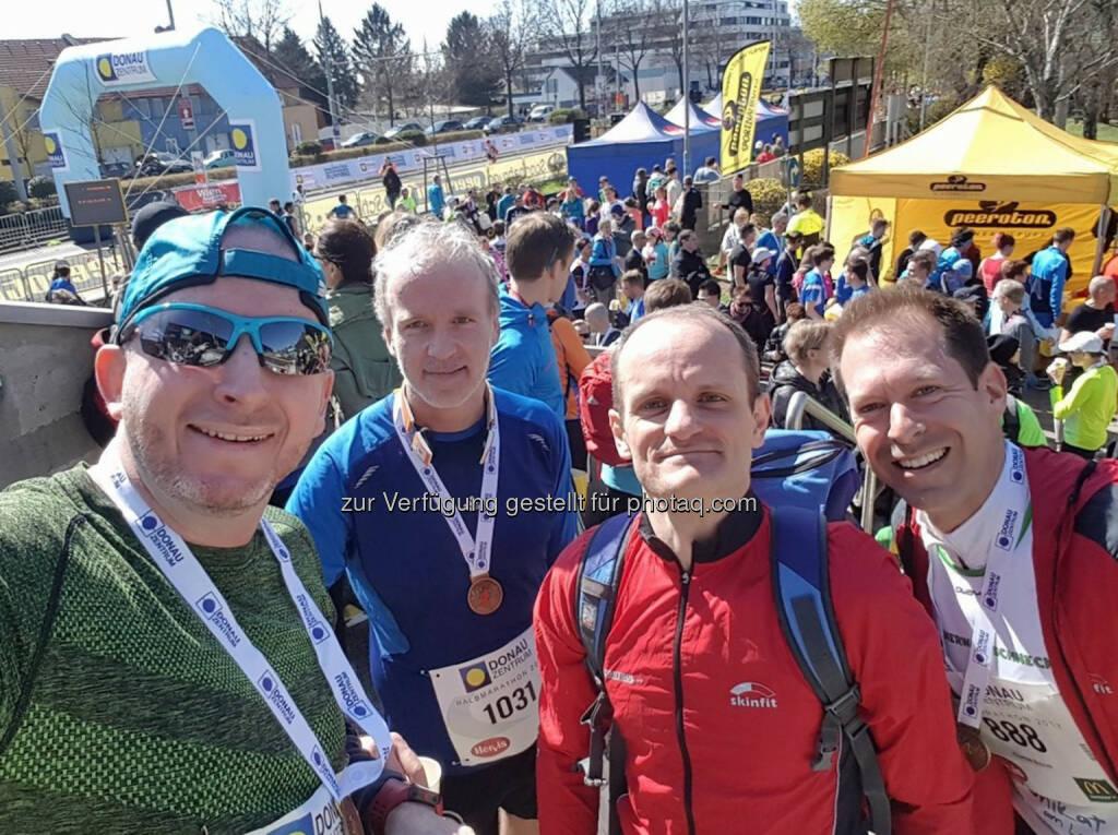 Michael Haase, Christian Drastil, Thomas Pundy, Thomas Baucek (26.03.2017)