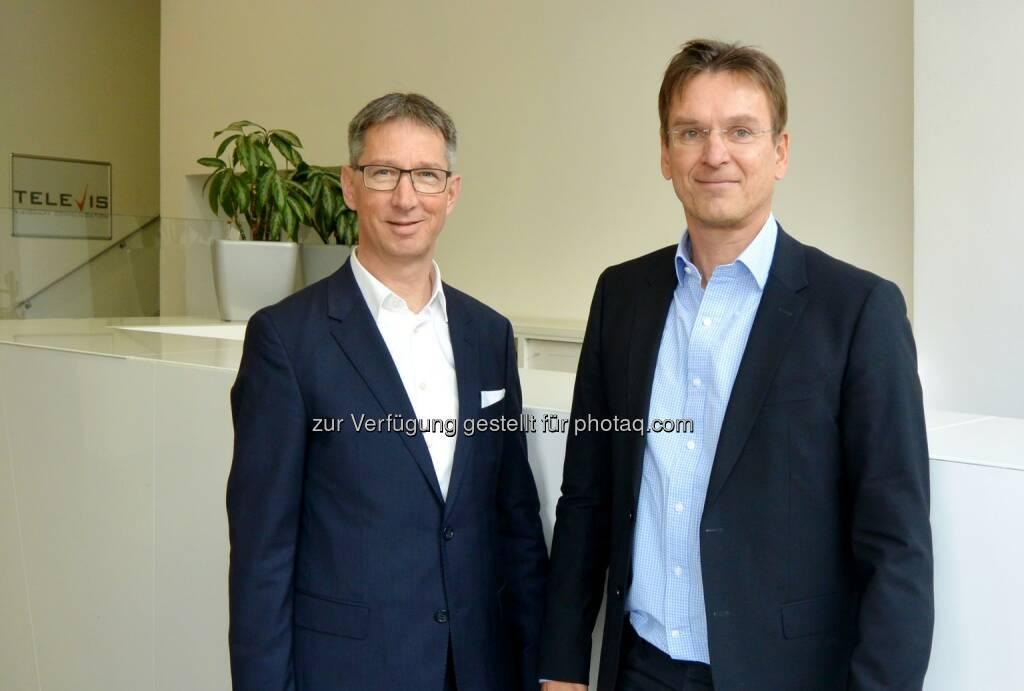 Hermann Graf und Peter Haas - T&N Telekom & Netzwerk GmbH: T&N übernimmt Televis (Fotocredit: T&N GmbH), © Aussender (27.03.2017)