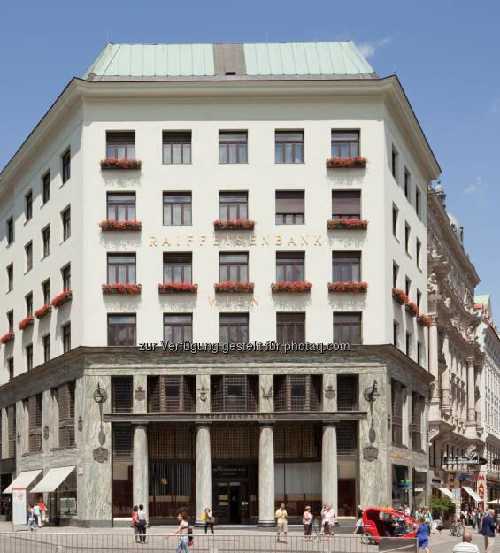 Veranstaltungsort der ersten Raiffeisen Immobilienmesse: das Wiener Looshaus - Raiffeisenlandesbank NÖ-Wien AG: Erste Raiffeisen Immobilienmesse im Wiener Looshaus (Fotocredit: Raiffeisen NÖ-Wien), © Aussendung (28.03.2017)
