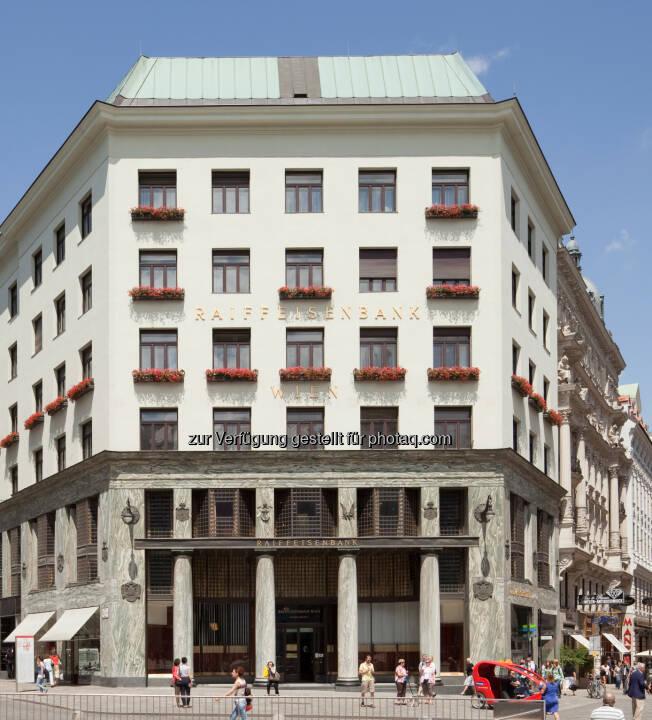 Veranstaltungsort der ersten Raiffeisen Immobilienmesse: das Wiener Looshaus - Raiffeisenlandesbank NÖ-Wien AG: Erste Raiffeisen Immobilienmesse im Wiener Looshaus (Fotocredit: Raiffeisen NÖ-Wien)