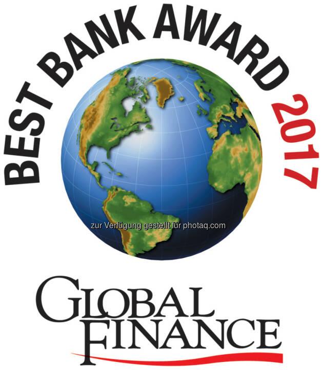 Best Bank Award 2017 - Global Finance