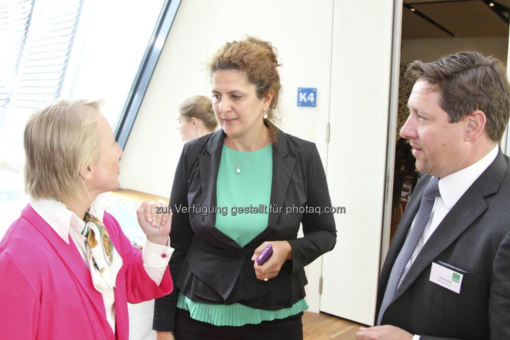 Heike Arbter, Edit Sedon, Florian Claus, © Norbert Novak für das ZFA (14.05.2013)