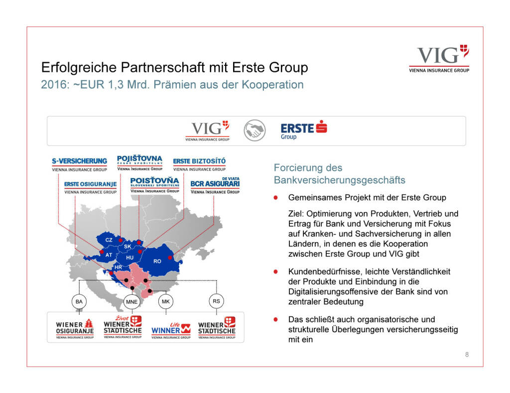 Präsentation VIG - Partnerschaft Erste Group (30.03.2017)