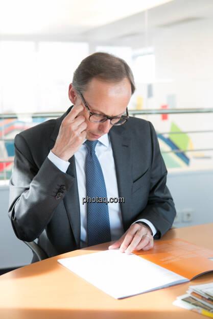 Klaus Malle (Country Managing Director Accenture Österreich), © finanzmarktfoto/Martina Draper (14.05.2013)