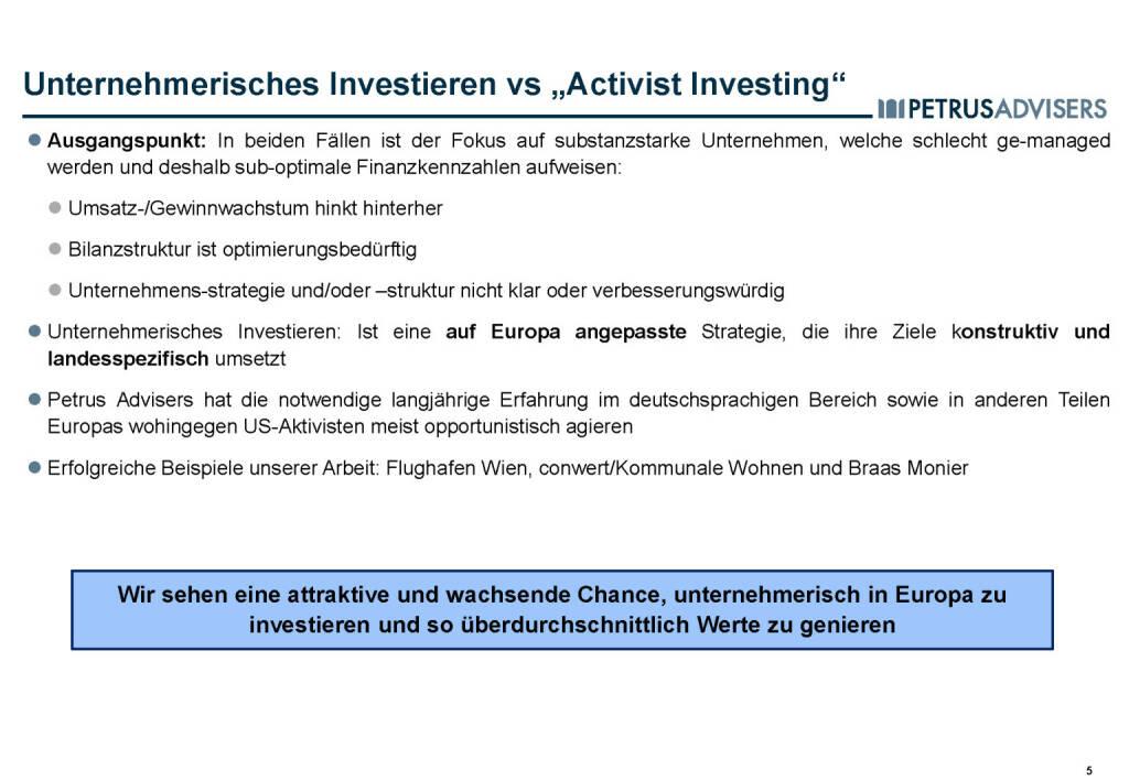 Petrus Advisers - Unternehmerisches Investieren (30.03.2017)