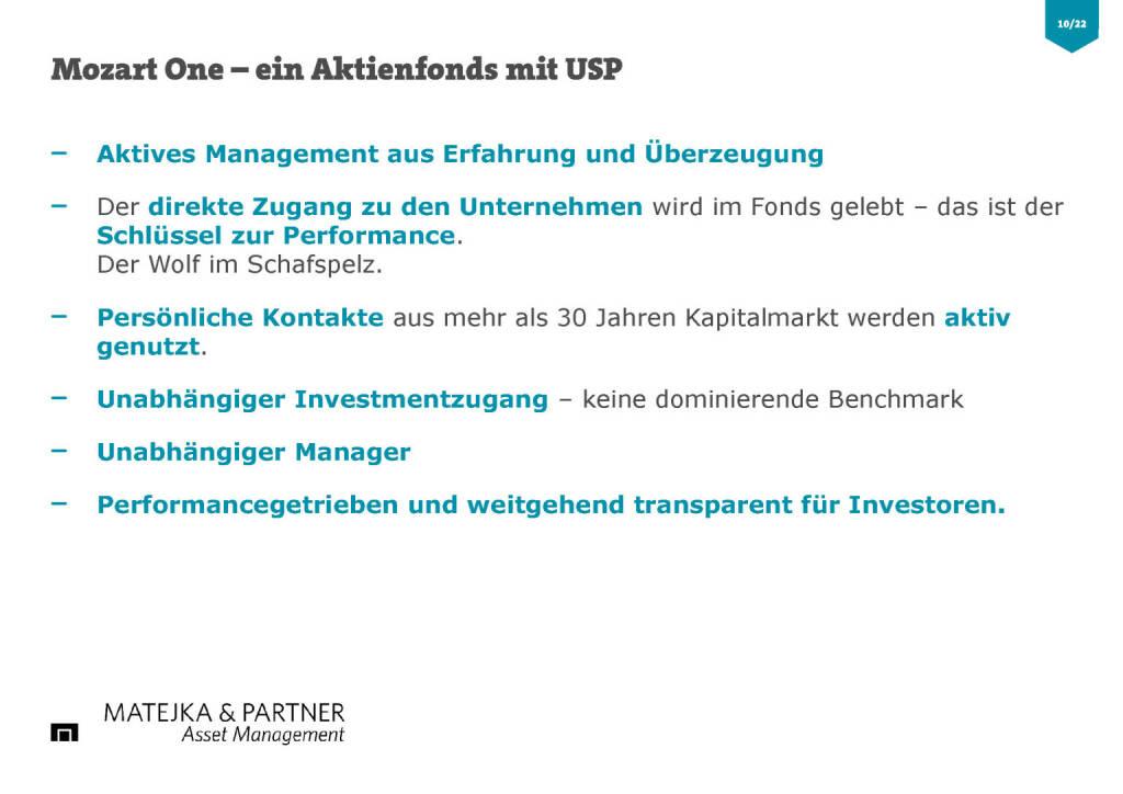 Wiener Privatbank - Mozart One Aktienfonds USP (30.03.2017)