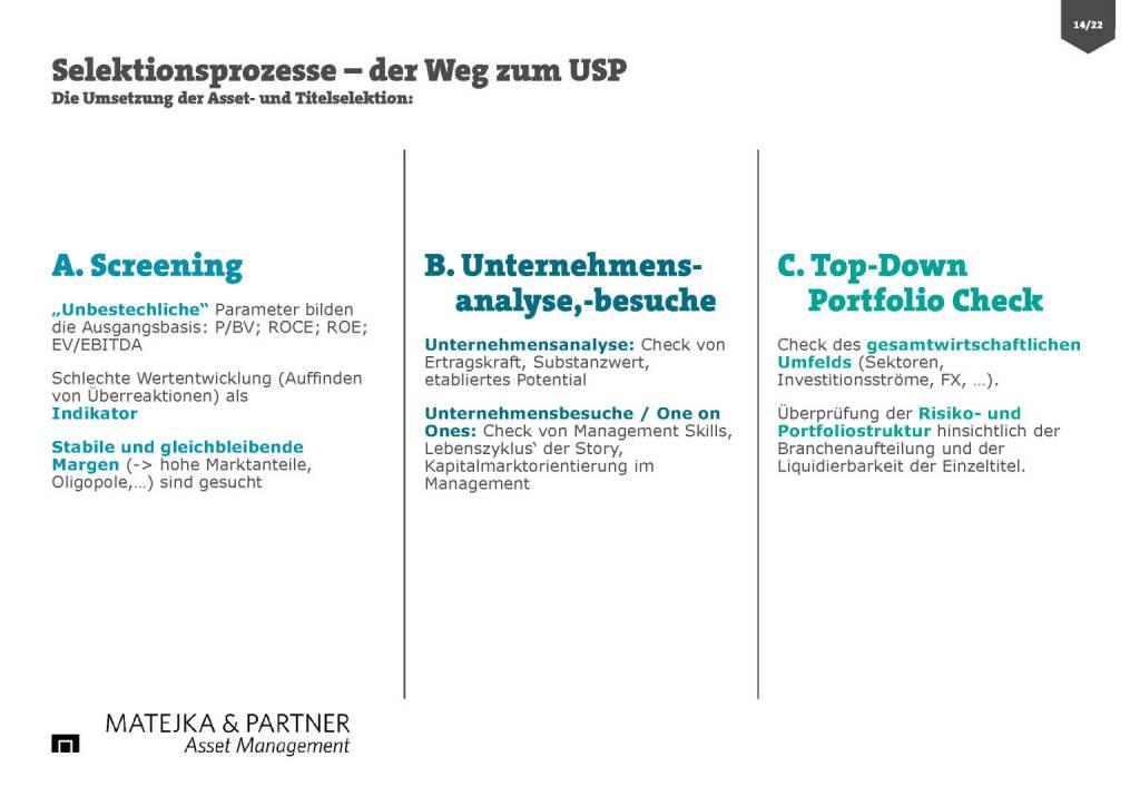 Wiener Privatbank - Selektionsprozess (30.03.2017)