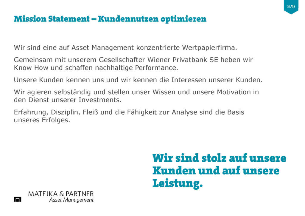 Wiener Privatbank - Mission Statement (30.03.2017)
