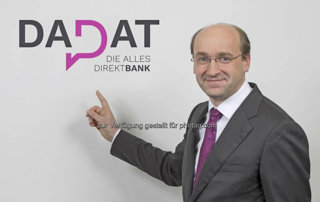 Mit der Webseite www.dad.at, die optimal auch für die mobile Nutzung per Smartphone und Tablet konzipiert ist, möchte Huber neue Maßstäbe in der österreichischen Direktbankenlandschaft setzen. (Bildquelle: DADAT Bank, Andreas Kolarik), © Aussender (31.03.2017)
