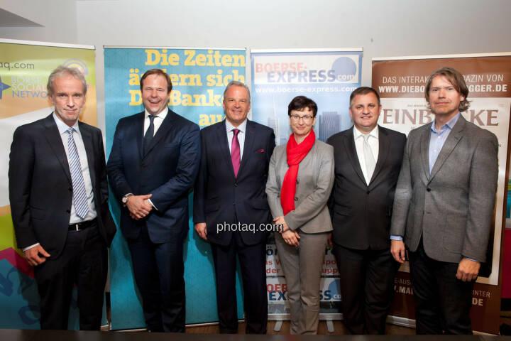 Christian Drastil (BSN), Klaus Umek (Petrus Advisers), Andreas Feuerstein (S Immo), Nina Higatzberger-Schwarz (VIG), Eduard Berger (Wiener Privatbank),Thomas Vittner (moomoc)