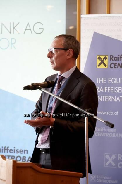 Wilhelm Celeda, CEO der RCB in Zürs (Fotocredit (RCB), © Aussender (03.04.2017)