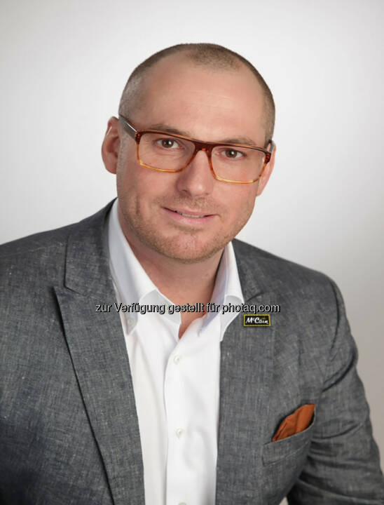 Edwin Frewein ist neuer Sales Manager Foodservice McCain - McCain Foods GmbH: Edwin Frewein neuer Sales Manager Foodservice McCain (Fotocredit: McCain Foods GmbH)