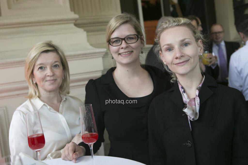 Andrea Lerch, Teresa Schinwald, Andrea Pelinka-Kinz (RCB), © finanzmarktfoto/Martina Draper (15.05.2013)