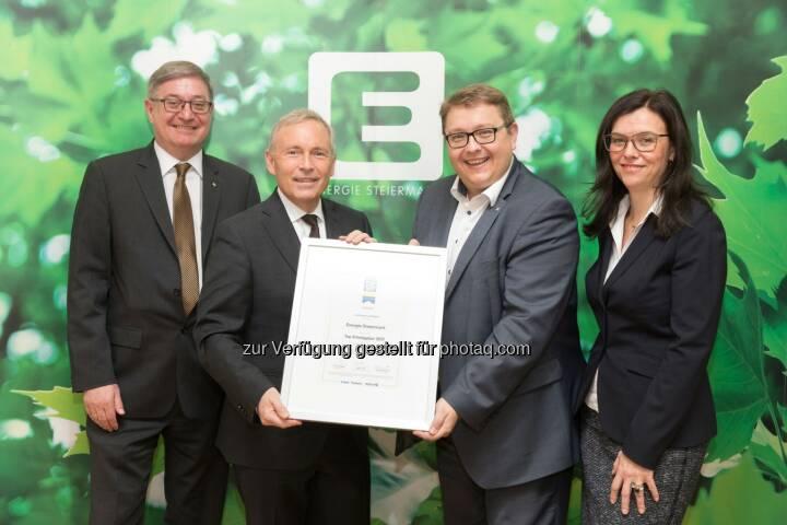 """Energie Steiermark AG: Ergebnis von über 70.000 Bewertungen: Energie Steiermark ist """"Top-Arbeitgeber 2017"""" (Fotograf: Harry Schiffer / Fotocredit: Energie Steiermark)"""