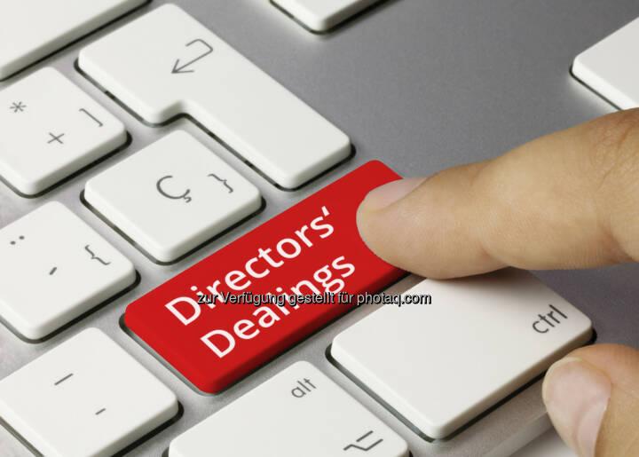 Directors Dealings auf der wienerborse.at
