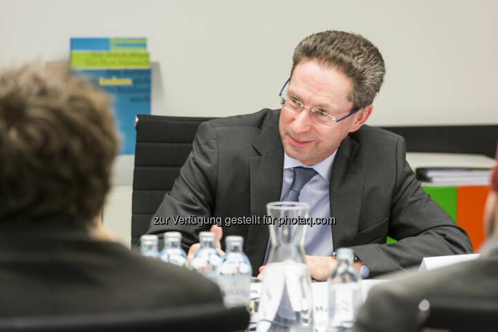 Dr. Helmut Hardt, Mitglied des Vorstandes, Wiener Privatbank SE - Wiener Privatbank SE: Trendwende am Wiener Immobilienmarkt? (Fotocredit: George Kaulfersch * georgeye.com)