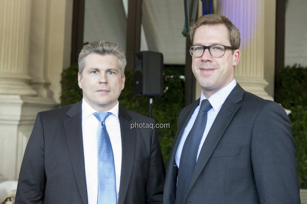 Thomas Neuhold, Stephan Trubrich (Kepler), © finanzmarktfoto/Martina Draper (15.05.2013)