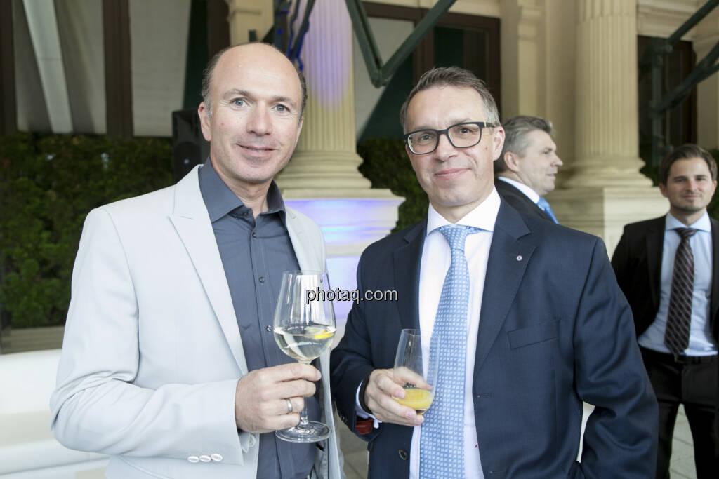 Peter Hötzinger (Century Casinos), Alfred Reisenberger (Matejka & Partner), © finanzmarktfoto/Martina Draper (15.05.2013)