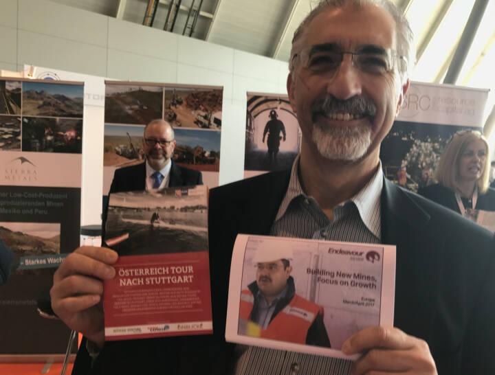 Bradford Cooke, Endeavour Silver, mit dem Mini-  http://www.boerse-social.com/magazine , beigelegt bei http://markteinblicke.de #invest2017