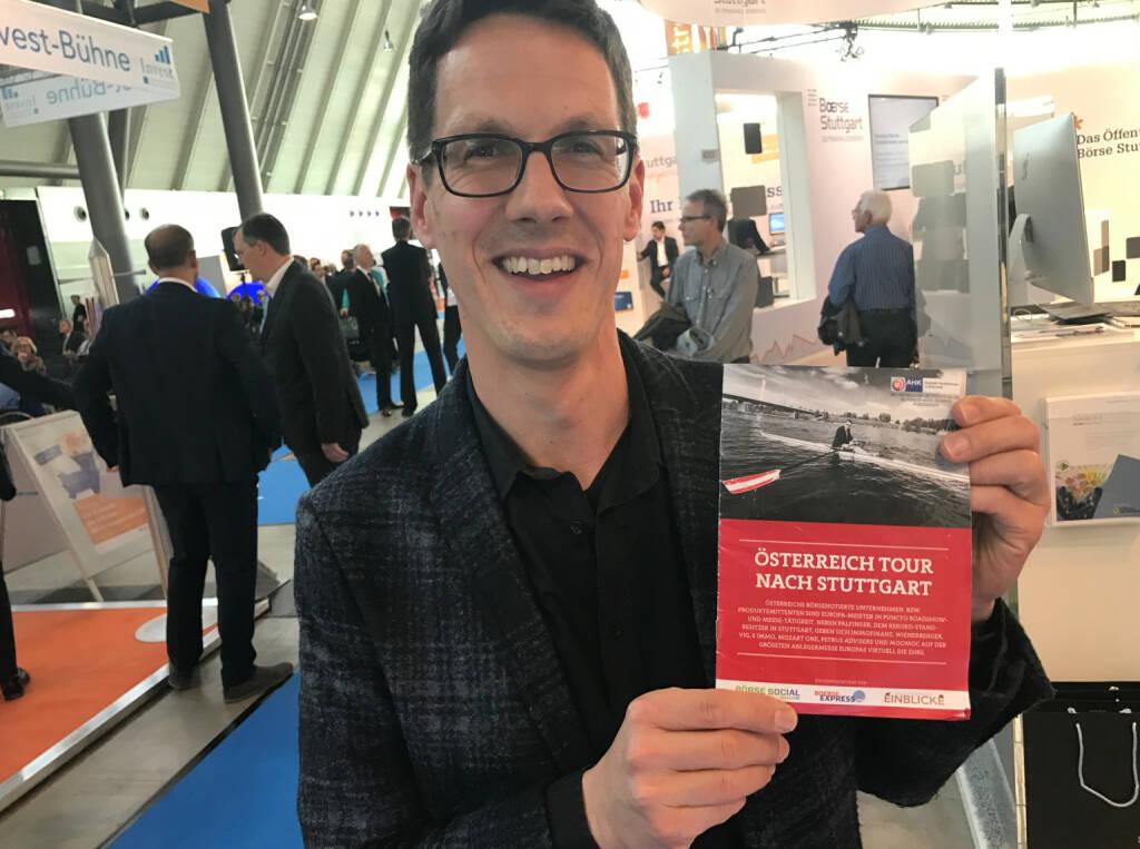 Christian Scheid mit dem Mini-  http://www.boerse-social.com/magazine , beigelegt bei http://markteinblicke.de #invest2017 (09.04.2017)