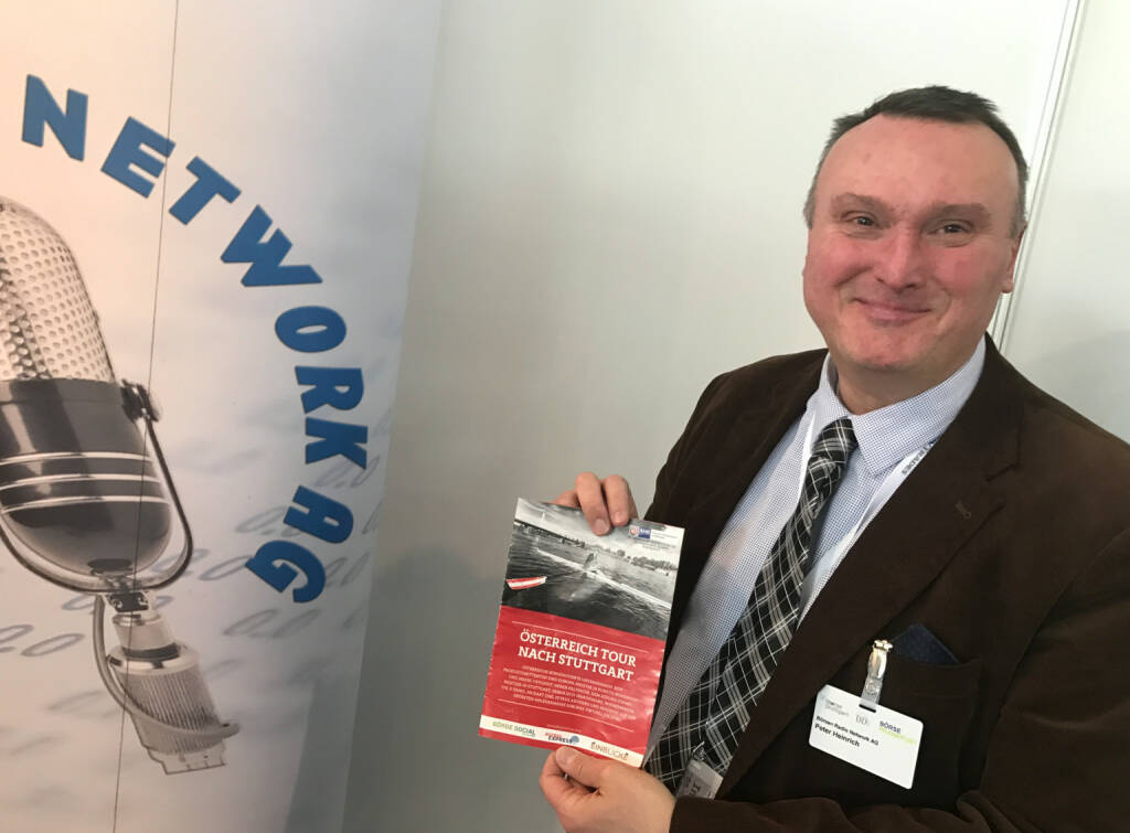 Peter Heinrich mit dem Mini-  http://www.boerse-social.com/magazine , beigelegt bei http://markteinblicke.de #invest2017 (09.04.2017)