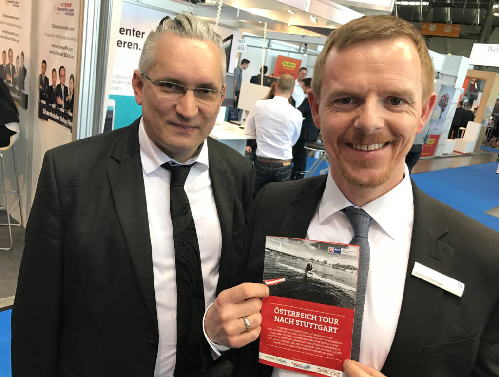 Christian-Hendrik Knappe mit dem Mini-  http://www.boerse-social.com/magazine , beigelegt bei http://markteinblicke.de #invest2017 (09.04.2017)