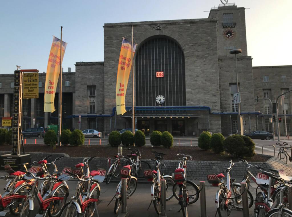 Stuttgart Bahnhof (09.04.2017)