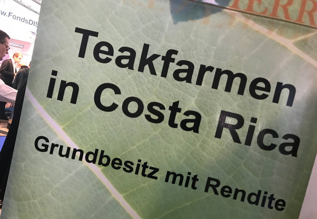 Teakfarmen in Costa Rica (09.04.2017)