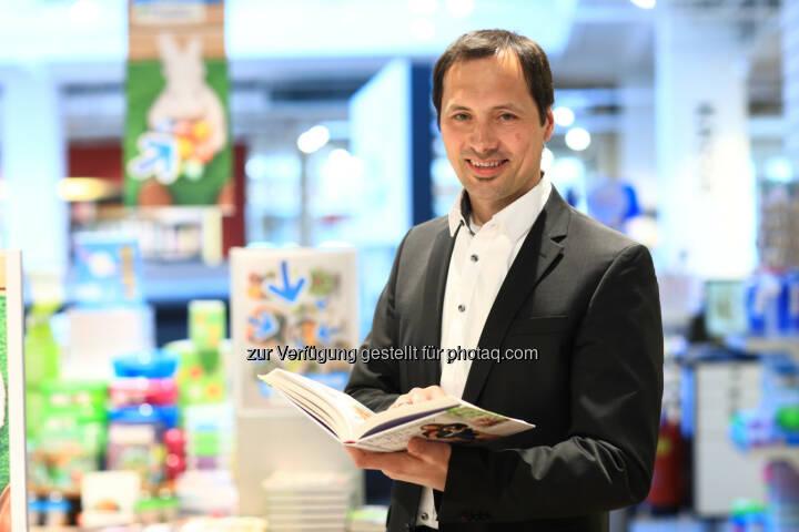 """Thalia Buch und Medien Gmbh: Thomas Zehetner: """"Das hochwertige Buch gehört in den Mittelpunkt gestellt"""" (Fotocredit: Thalia Buch und Medien GmbH/APA-Fotoservice/Schedl)"""