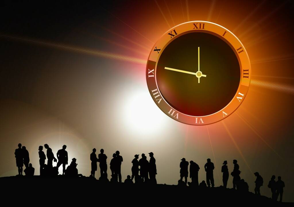 Zukunft, Uhr, Zeit (Bild: Pixabay/geralt https://pixabay.com/de/menschen-gruppe-uhr-zeit-439149/ ) (13.04.2017)