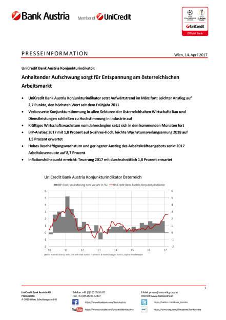 Anhaltender Aufschwung sorgt für Entspannung am österreichischen Arbeitsmarkt , Seite 1/6, komplettes Dokument unter http://boerse-social.com/static/uploads/file_2210_anhaltender_aufschwung_sorgt_fur_entspannung_am_osterreichischen_arbeitsmarkt.pdf (14.04.2017)