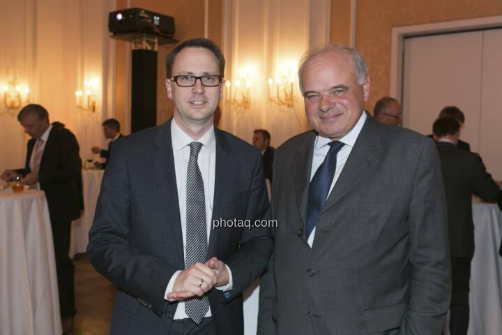 Stefan Maxian (RCB), Alfred Pasquali (Bank Gutmann)