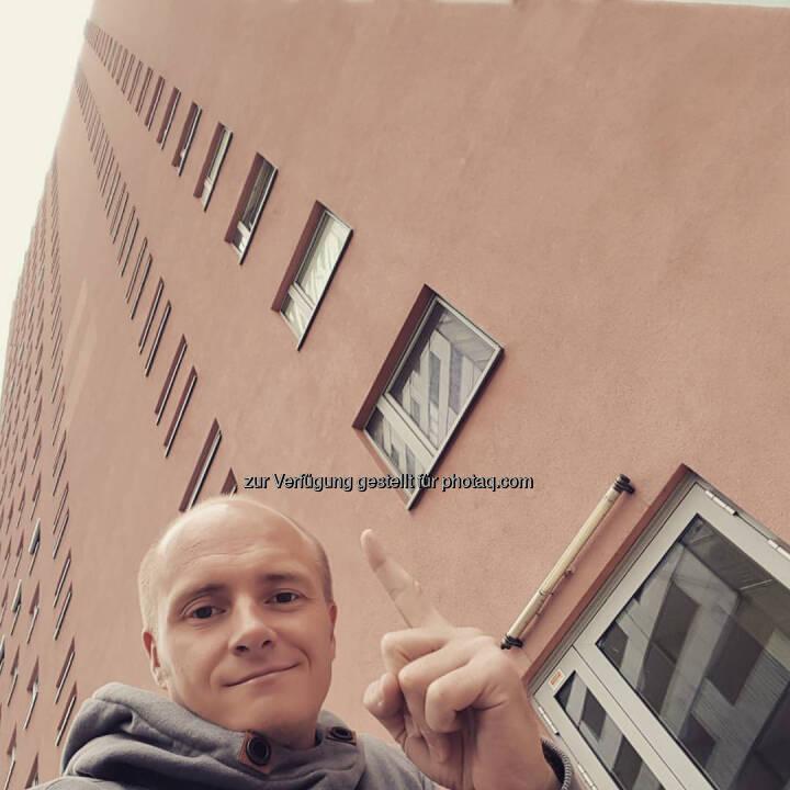 Markus Steinacher, hinauf, Stockwerke, hoch hinaus